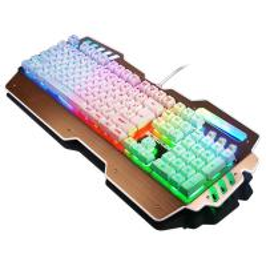 Wholesale Waterproof Anti Ghosting Bezel Keyboard Rainbow Backlit Keyboard Win 2000 from china suppliers