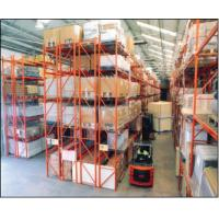 China Fixed Heavy Duty Storage Racks , Food Or Beverage Industry Project Metal Double Deep Pallet Racking for sale