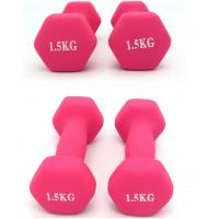 Wholesale Women Fitness Aerobic Exercise dumbbell charm Dumbbells Gym Neoprene Iron Dumbbells from china suppliers