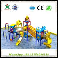 China Children Water Play Park Plastic Slides Water Park Slide for Sale on sale