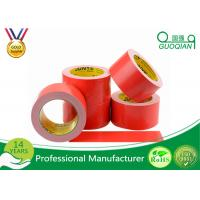 Quality Red Cloth Duct Tape with Strong Adhesion 50 Mesh Polyethylene Material for sale