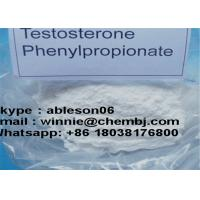 Test Phenylprop Raw Testosterone Powder Testosterone Phenylpropionate Muscle Building TPP CAS 1255-49-8