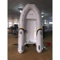 Wholesale 2017 Durable 300cm Aluminum Work Boats , Aluminum Hull Inflatable double bottom from china suppliers