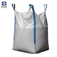 China Hydrate Lime Fibc Big Bag / Large Woven Polypropylene Bags Easy Transportation for sale