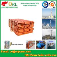 Quality 100 Ton Power Station Boiler Super Heater Convection Heat Insulation for sale