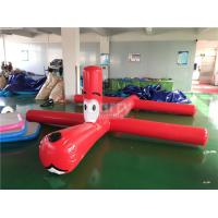 Wholesale Red Inflatable Water Toys For Swimming Pools , More Than 3 Years Life Span from china suppliers