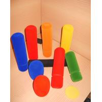 Non Toxic Flocking Microphone Covers Foam Sound Insulation Multi Color Eco Friendly