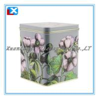 Wholesale tinplate square tea box from china suppliers