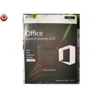 Wholesale Microsoft Office 2016 Home And Business For Mac  Installation 100% Activation from china suppliers