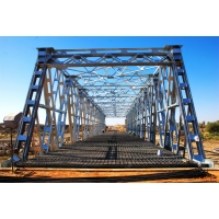 Wholesale Construction Temporary Road Prefabricated Steel Truss Bridge from china suppliers