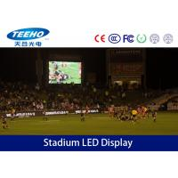 Wholesale P10 Wide Angle Stadium LED Display Board , Advertising SMD Moving LED Display from china suppliers