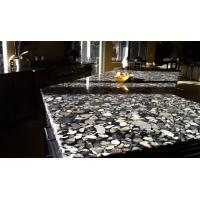 Quality Black Marinace Stone Slab Countertops Granite Contemporary Kitchen Flooring Wall for sale