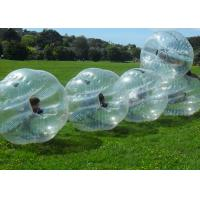 Wholesale PVC Bumper Bubble Ball For Soccer , 1.2m 1.5m 1.7m Human Inflatable Bumper Ball For Adult from china suppliers