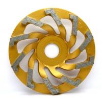 Wholesale High Grade Metal Bonded Diamond Grinding Wheel For Concrete / Masonry Surface Grinding from china suppliers
