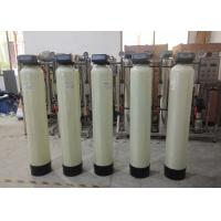 China 1000LPH Softener System Softening Hardness Removal With Cation Resin Boiler Use on sale