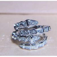 Wholesale Women's Unique 18K White Gold With Diamond Ring Customization Available from china suppliers