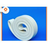 Wholesale White Sealing Felt Durable Polyester Belt , Felt Conveyor Belt Extrusion Initial Table from china suppliers