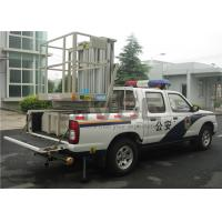 Truck Mounted Scissor Working Platform Double Mast For Wall Cleaning