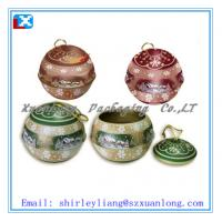 Wholesale ball shape tin box for candy from china suppliers