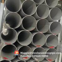 Wholesale Stainless Steel Welded Pipes ASTM A312 TP304 TP304L TP304H TP321 TP316L ASTM A790 S31803, SCH10, SCH40,6M 11.8M from china suppliers