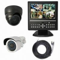 Wholesale All-in-one 10.2-inch LCD DVR with RJ11 Cable and 4 Channels from china suppliers
