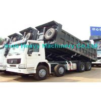 Wholesale HOWO Manual 8x4 Dump Truck , 30 Ton International Dump Trucks from china suppliers