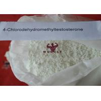 Wholesale Raw Oral Turinabol Steroid 4 Chlorodehydromethyltestosterone No Side Effect from china suppliers