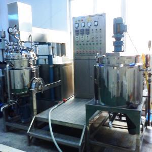 Buy cheap 200L Food Ointment & Cream Vacuum Emulsifier Machine, Homogenizer Emulsification from wholesalers