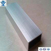 Wholesale Top quality silver anodized extruded aluminum square pipe with different size from china suppliers