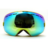 Wholesale Spherical Dual Lenses Anti-Fog Glasses Installable Professional Ski Goggles with UV400 from china suppliers