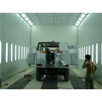 Quality 2 Rows Of Pits Side Draft Paint Booth For Painting And Drying Bus for sale