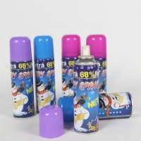 Wholesale Resin 200ml Tinplate Can Flake Snow Spray For Celebration Party from china suppliers