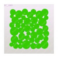 Wholesale Green wool felt design coaster from china suppliers