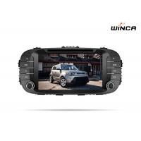 Wholesale 1.2G CPU Kia Soul Gps Navigation, 8 Inch HD Touch Screen Kia Soul Head Unit from china suppliers