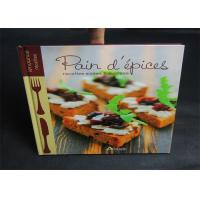 Wholesale Publishing 2 Color Cook Book Printing With CMYK / Pantone Color thick cardboard from china suppliers