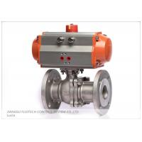 Wholesale Stainless Steel Flanged Pneumatic Actuator Valve Control For Industrial Use from china suppliers