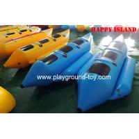 China Custom PVC Inflatable Boats , Water Amusement Floating Boats For Kids RQL-00401 on sale