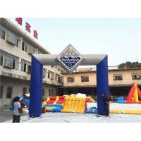 Wholesale Custom Inflatable Advertising Products Start Finish Arch / Inflatable Entrance Arch Supports from china suppliers