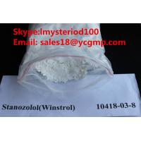 China Safe Winstrol Muscle Growth Oral Anabolic Steroids Stanozolol CAS 10418-03-8 for sale