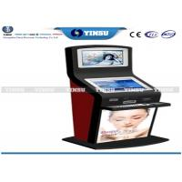 Quality Shopping Mall Self Service Computer Kiosk Strong Functional And Security for sale