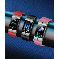 Wholesale Body fat monitor nRF52832 IP68 waterproof  intelligence health bracelet from china suppliers