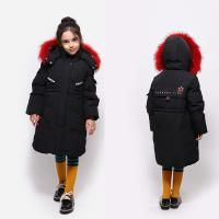 China Clothes Shop Design Hooded Fashion Girls Winter Clothing Real Crane Eider Duck Down Jacket for sale