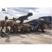 Wholesale Jurassic Park Dinosaur Project Giant Animatronic Moving Dinosaur Realistic Model from china suppliers
