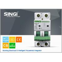 Wholesale PV system 1P 6a 24v DIN Rail DC MCB Solar system circuit breaker waterproof electrical circuit breaker box from china suppliers