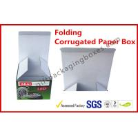 Wholesale Foldable Corrugated Paper Box Flue Matt Lamination For Led Light from china suppliers