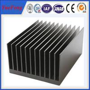 China High quality custom heatsink aluminium profile extrusion factory/ aluminium profile system on sale