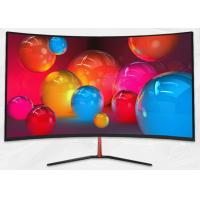 China 1920*1080 Curved PC Gaming Monitor , 32 Inch Flicker Free LED Monitor on sale