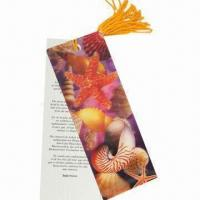 Wholesale 3D Bookmark, Made of Recycled PP with UV Offset Printing, Non-toxic and Eco-friendly from china suppliers