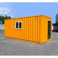 Wholesale Orange Prefabricated Shipping Container Homes For Flatpack Office Living Room Residential from china suppliers