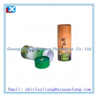 Wholesale full color printed round tea cardboard box from china suppliers